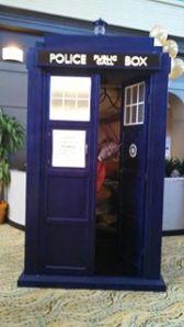 Vaughn in a TARDIS